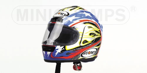Villeneuve 2001 Minichamps 301010010 1:8 Model Casco J